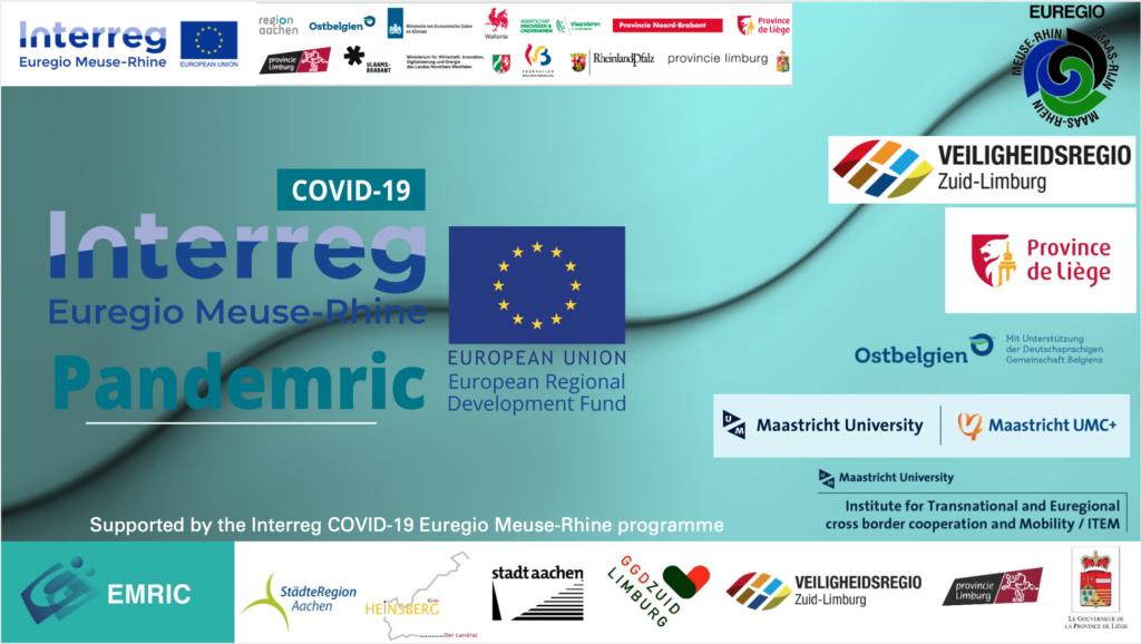 interreg kick off pandemric EMRIC project covid-19 crisis crises