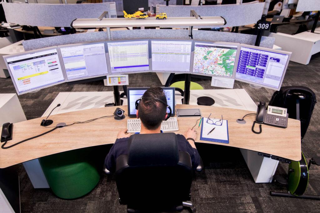 meldkamer control room